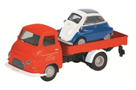 452623000  Hanomag Kurier + BMW Isetta
