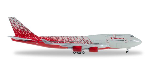 """529686  Boeing 747-400 """"Rossiya Airlines"""""""