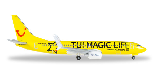 "529860    Boeing 737-800 ""TUI fly, Magic Life"""