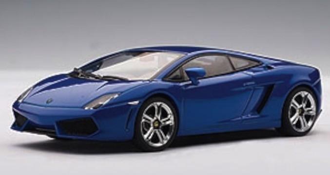 54619  Lamborghini Gallardo LP560-4, blauw, Auto Art
