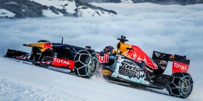 "410169933  Red Bull Racing TAG Heuer RB7 ""Snow Dem. Kitbühel, M. Verstappen"", Minichamps"