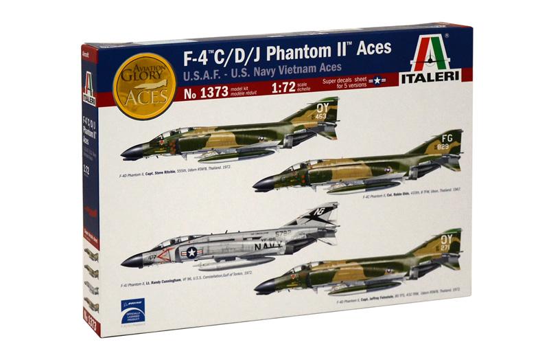 1373  F-4C/D/J Phantom II Aces, U.S.A.F. - U.S. Navy Vietnam Aces