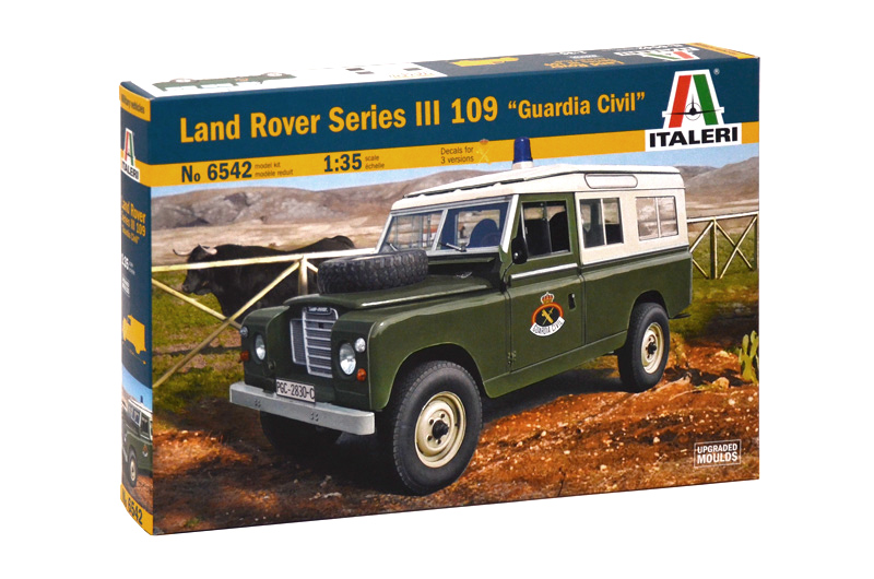 "6542    Land Rover Series III 109 ""Guardia Civil"""