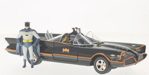 98259    Batman Batmobile + figuren, Jada Toys