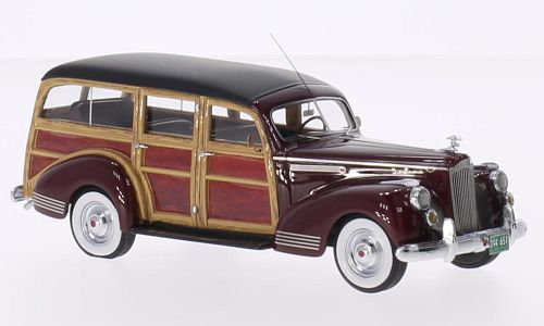44651    Packard 110 Deluxe Wagon, rood, Neoscale Models
