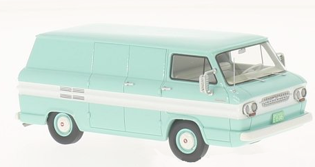 46527    Chevrolet Corvair Van, turquoise/wit, Neoscale Models