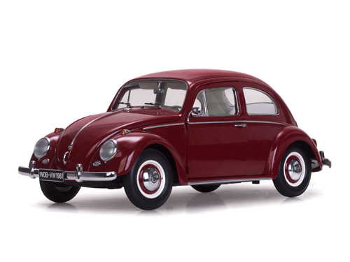 5210    1961 VW Beetle Saloon, rood, Sunstar