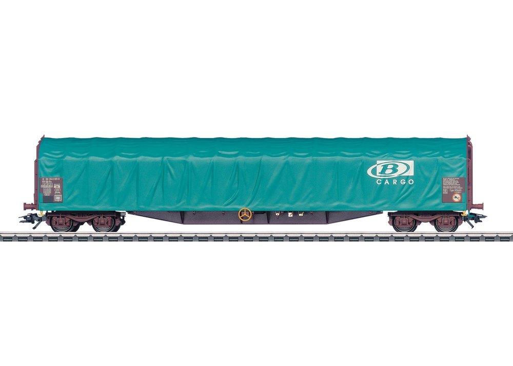 47063 : vierassige huifwagen B-Cargo