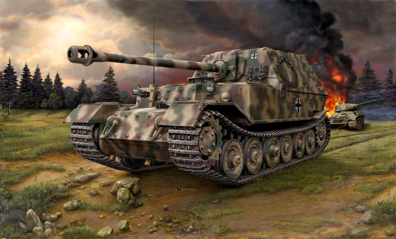 "3254  Sd.Kfz. 184 ""Tank Hunter, Elefant"""