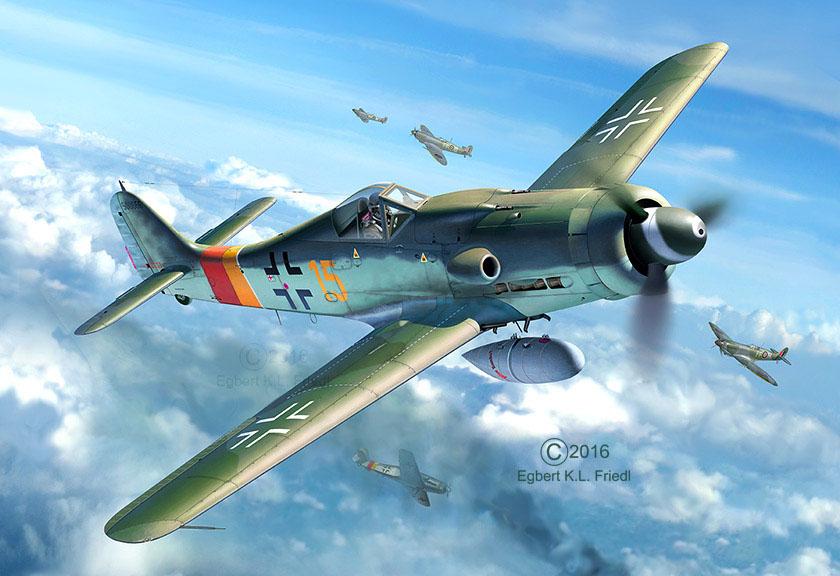 3930  Focke Wulf Fw190D-9