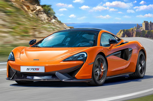 7051  McLaren 570S