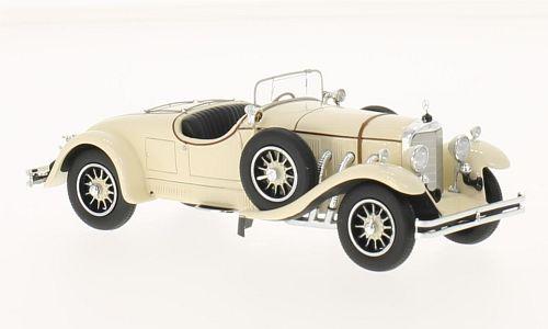 43210  Mercedes 24/100, beige, Neoscale Models