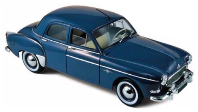 185280  Renault Frégate 1959, Capri Blauw, Norev