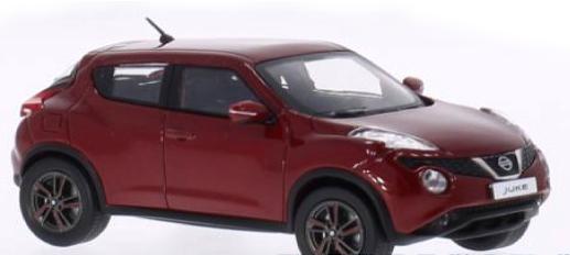 PRD197  Nissan Juke 2015, rood, PremiumX