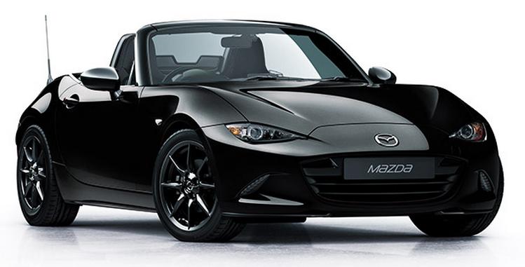 T9-1800196  Mazda MX-5 2015, zwart, Triple9