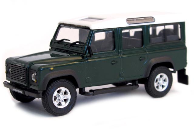 53240  Land Rover Defender, groen, Cararama