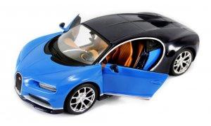 31514  Bugatti Chiron, blauw, Maisto