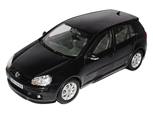 12548W    VW Golf V, zwart, Welly