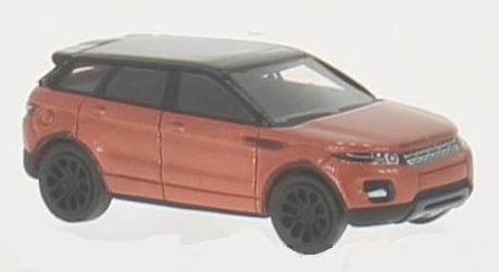 bos87146  Range Rover Evoque, met. donkeroranje/zwart