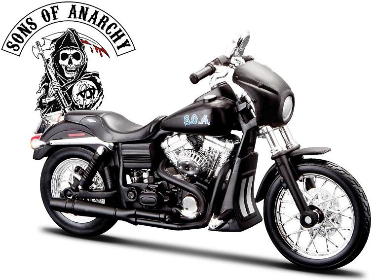 32340  2006 Harley Davidson FXDBI Dyna Street Bob, Maisto