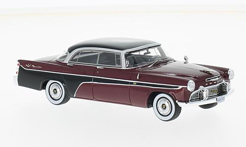 46850  Desoto Firedome 4-door Seville, met. donkerrood/zwart, Neoscale Models