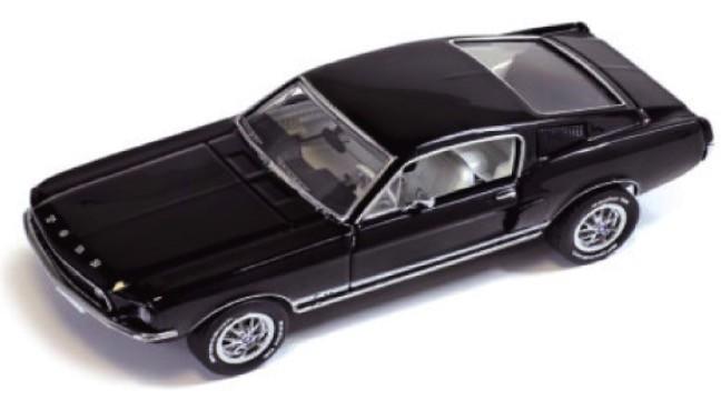 PRD366J  Ford Mustang GT Fastback 1967, zwart, PremiumX