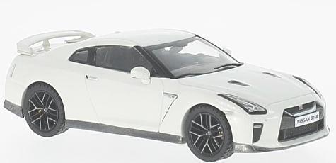 PRD584  Nissan GT-R 2017, wit, PremiumX