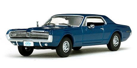 36301  1967 Mercury Cougar, Nordic Blue, Vitesse