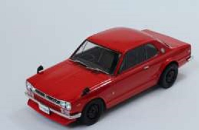 T9-1800182  Nissan Skyline GT-R KPGC10, rood, Triple9