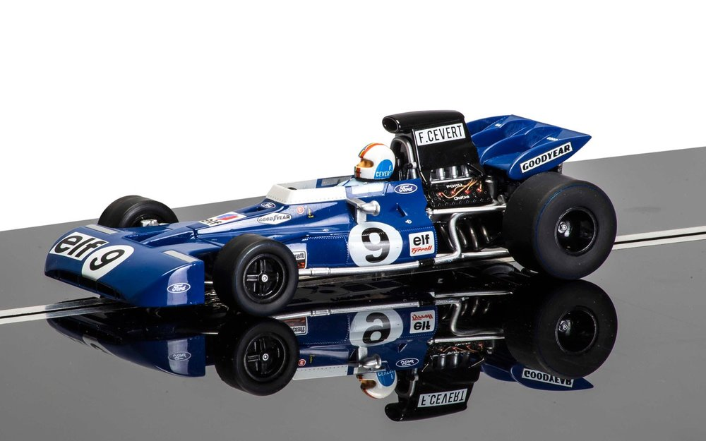 3759a    Tyrell 002 driven by François Cevert, Scalextric