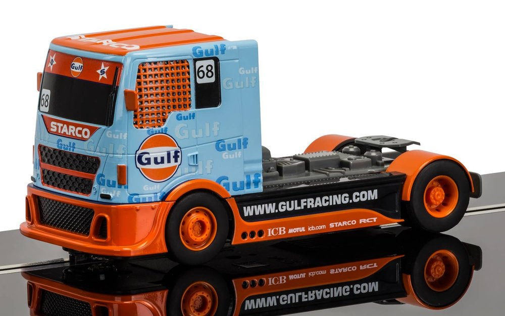 "3772    ""Gulf Racing"" Truck, Scalextric"