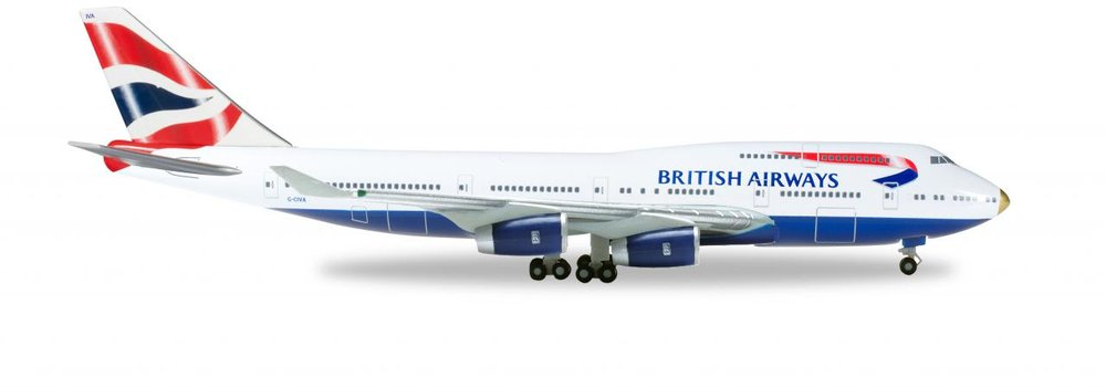 "512497-003    Boeing 747-400 ""British Airways G-CIVA"""