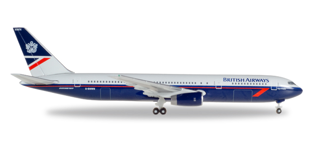 "529822    Boeing 767-300 ""British Airways Landor Colors"""