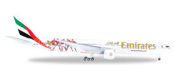 "529853  Boeing 777-300ER ""Emirates Benfica Lissabon"""