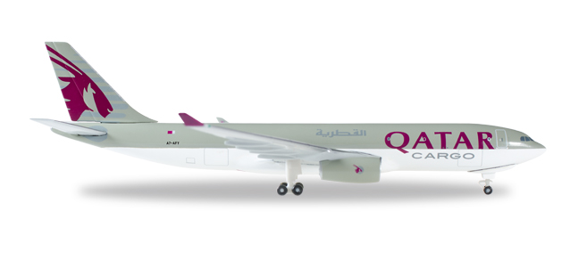 "529884    Airbus A330-200F ""Qatar Airways Cargo"""