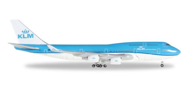 "529921  Boeing 747-400 ""KLM (NL)"""