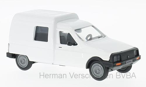 101602  Citroën C15, wit, Eligor