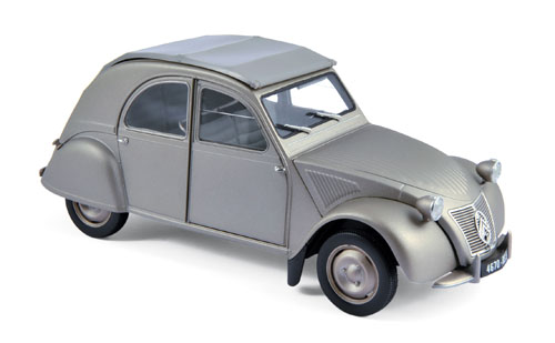 181497  Citroën 2CV A 1950, grijs, Norev