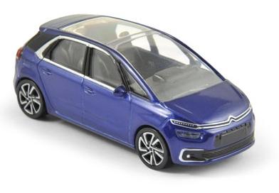 310600  Citroën C4 Picasso, blauw, Norev