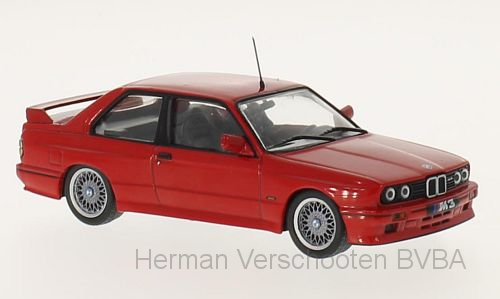 WB245    BMW E30 M3 Sport Evolution, rood, Whitebox
