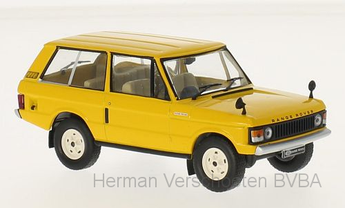 WB248    Range Rover 3.5, geel, RHD, Whitebox