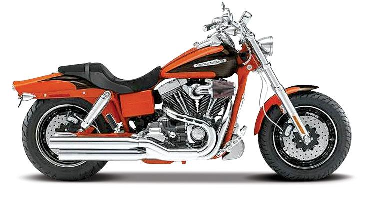 20-09080  Harley Davidson 2009 FXDFSE, oranje, Maisto