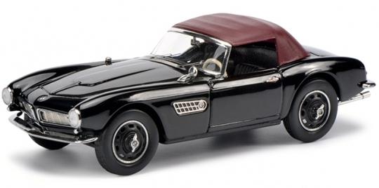 450218000  BMW 507, zwart/rood, Schuco