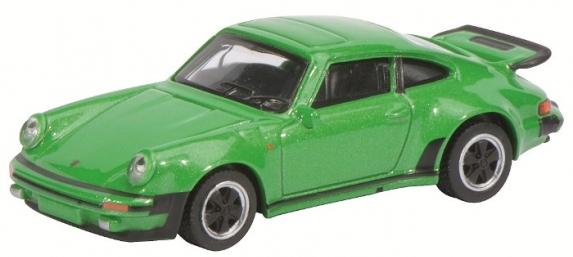 452010000  Porsche 911 Turbo (930), groen, Schuco