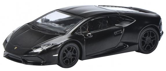 452015100  Lamborghini Huracan, matzwart, Schuco
