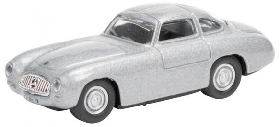 452618400  Mercedes-Benz 300 SL Prototype, zilver, Schuco