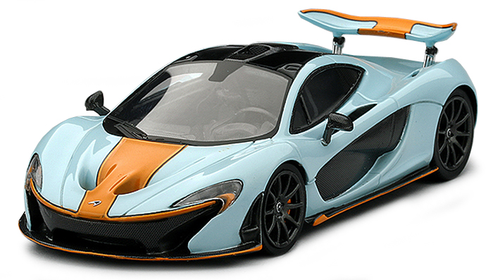 "TSM164331  McLaren P1 2014 ""Gulf Colors"", Truescale Miniatures"