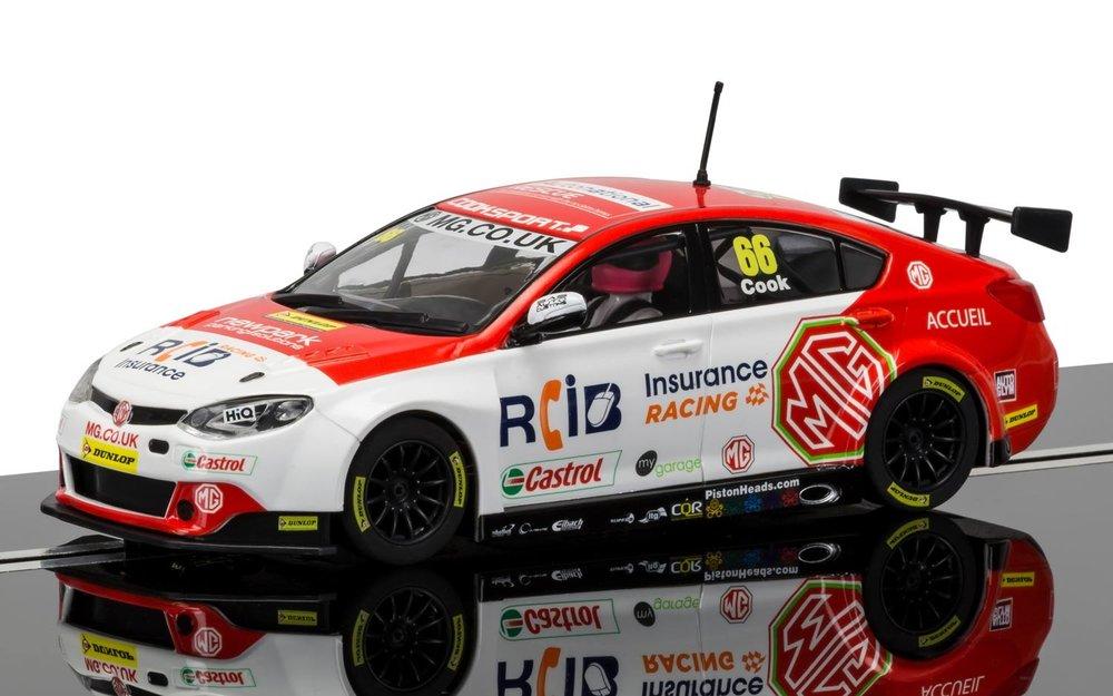 "3863  BTCC MG6 ""2016 British Touring Car Championship, Josh Cook"", Scalextric"