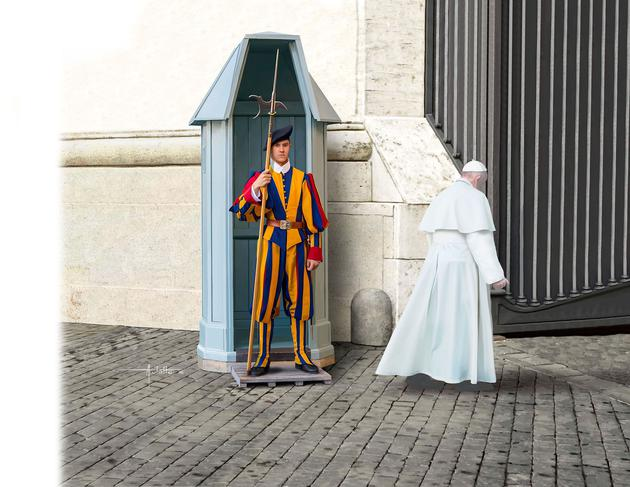 2801    Swiss Guard, Revell