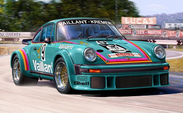 "7032  Porsche 934 RSR ""Vaillant"", Revell"